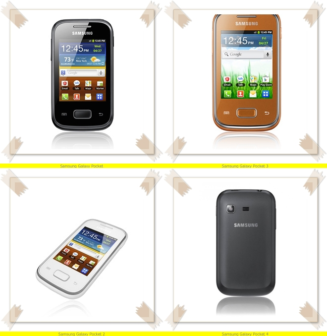 Samsung Galaxy Pocket ( รุ่น GT-S5300 / GT-S5300B )