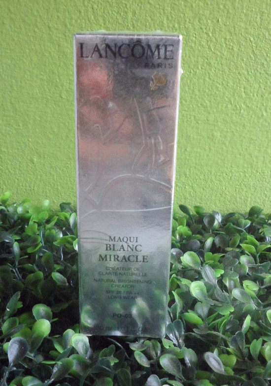 Lancome Maqui Blanc Miracle Foundation # 30 ml