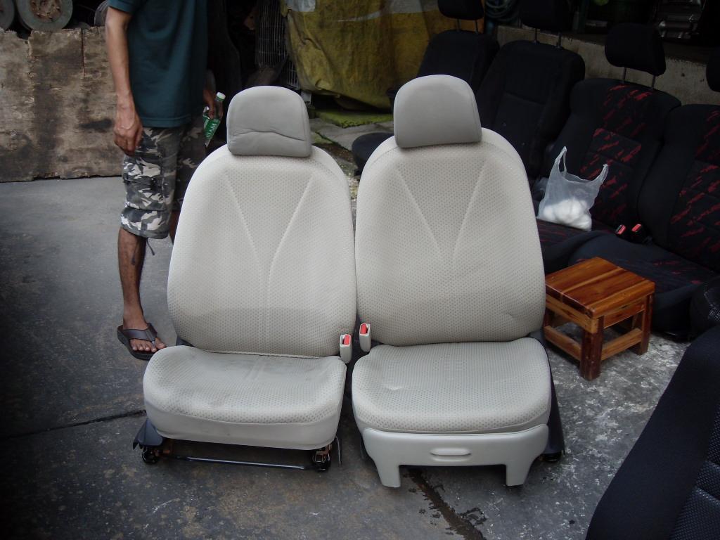 เบาะรถยนต์มือสอง เพียบ! เบาะLEVIN เบาะPredlude AE100 เบาะเลวิน พรีลูด เบาะJAZZ