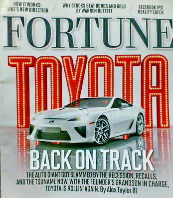 Fortune : February 27,2012