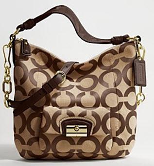 พร้อมส่ง !! กระเป๋า Coach Kristin Op Art Hobo#14911