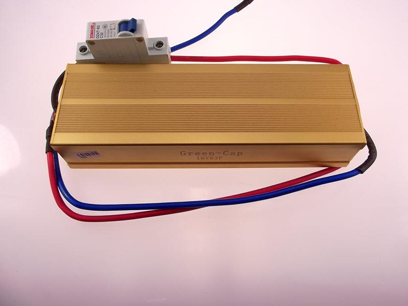 ซูเปอร์คาปาซิเตอร์ 16V 83F Super capacitor รางอลูอโนไดซ์