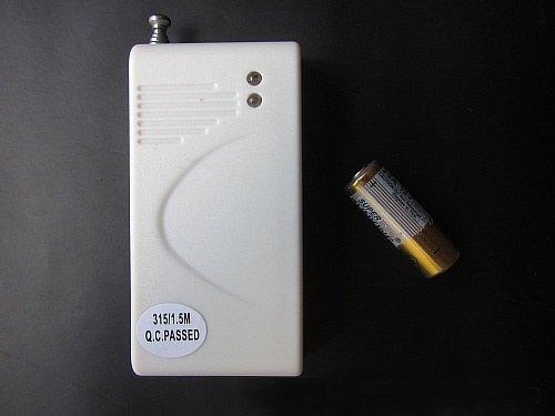 เซ็นเซอร์จับการสั่นสะเทือน สำหรับกันขโมยไร้สาย 315Mhz ( Wireless Vibrate Sensor )