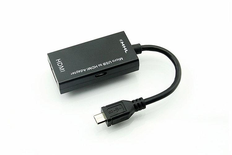 อแดปเตอร์แปลง MHL 1.0 ( 5 pin ) Micro USB เป็น HDMI Adapter