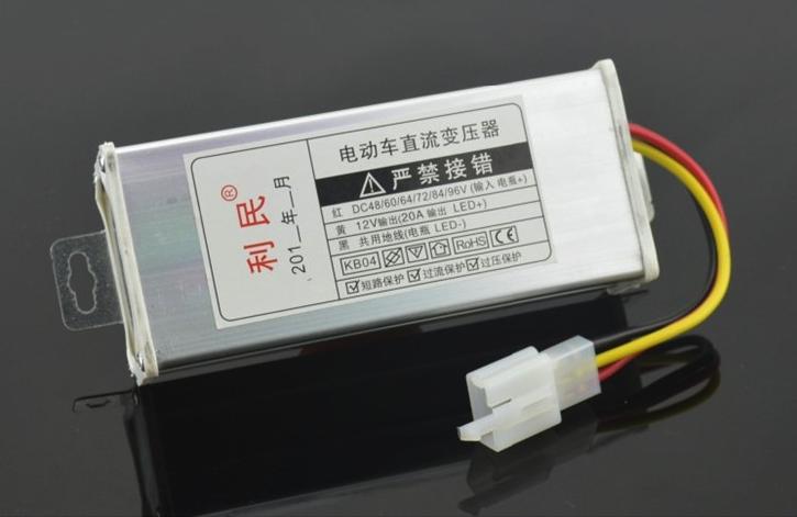 วงจรแปลงไฟ 48V-96V เป็น 12V 20A