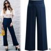 กางเกงทำงานขายาว สีน้ำเงิน (XL,2XL,3XL,4XL,5XL) X0316#