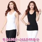 เสื้อกล้ามไซส์ใหญ่ สีดำ/สีขาว (2XL,3XL,4XL)