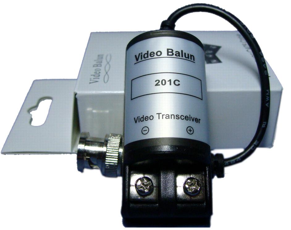 บาลันกล้องวงจรปิด ( NV-201C Passive Video Balun )