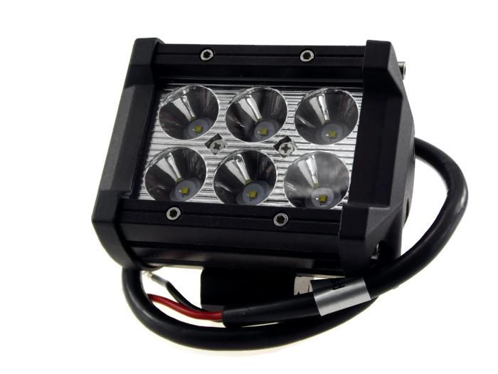 สปอตไลท์ LED 6x3W 18w โคมอลู CNC 12V 24V