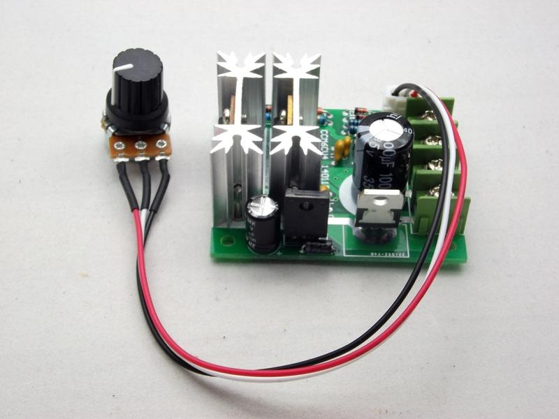 วงจรหรี่ไฟ / คุมสปีดมอเตอร์ DC 6-24v (Max 20A)