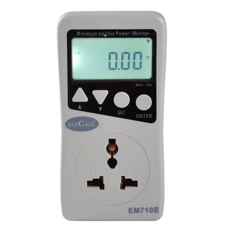 วัตต์มิเตอร์,ปลั๊กวัดกระแสไฟฟ้า ( Socket Power Monitor )