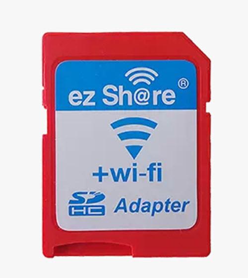 อะแดปเตอร์ micro sd to SD WIFI ez share ( micro SD to SD WIFI card adapter )
