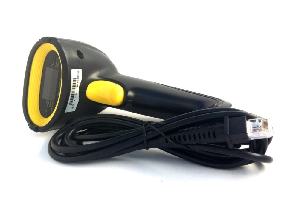 ปืนยิงบาร์โค้ด เลเซอร์ USB ( USB laser barcode scanner )