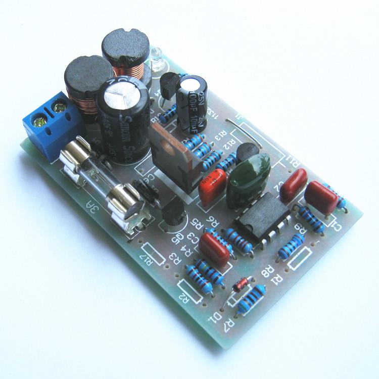วงจรสลายซัลเฟตแบตเตอรีตะกั่วกรด 12V ( battery Desulphator )