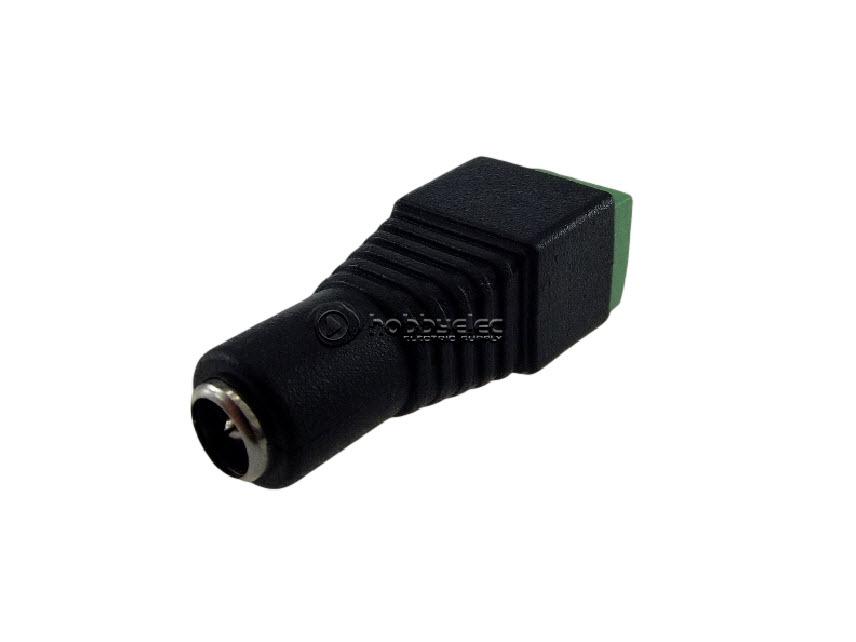 แจ็ค DC กล้องวงจรปิด ตัวเมีย ( cctv dc female power jack connector )
