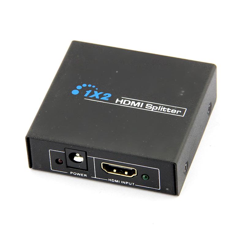 กล่องกระจายสัญญาณ hdmi 2 ช่อง ( hdmi splitter 2 ports )