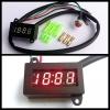 นาฬิกาดิจิตอล LED ติดมอเตอร์ไซต์
