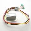 นาฬิกาดิจิตอล ติดรถมอเตอร์ไซต์ สีใส ( Motorcycle Mount LCD Digital Clock - Clear )