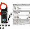 Digital Clamp-on Multimeter ดิจิตอลแคลมป์-มัลติมิเตอร์ DT26B