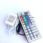 กล่องคุมไฟริบบิ้นRGB+รีโมท 44คีย์