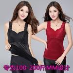 เสื้อกล้าม เสื้อชั้นใน ผ้ากำมะหยี่ สีดำ/สีแดงเข้ม/สีม่วง (XL,2XL,3XL,4XL)