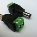 แจ็ค DC กล้องวงจรปิด ตัวผู้ ( cctv dc male power jack connector )