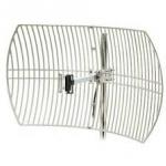เสากริด outdoor 2.4 GHz 24 dBi ( grid parabola wifi antenna )