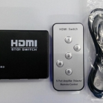 สวิทช์เลือกสัญญาณ HDMI 5 ช่อง รีโมต ( HDMI Switcher 5 to 1 with remote )