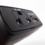 อินเวอร์เตอร์เสียบที่จุดบุหรี่ในรถ แปลงไฟจาก 12v. เป็น 220v 75W + USB ( car inverter )
