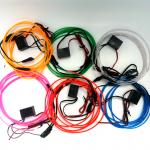 ไฟเส้น el 12V ชุด ( el wire glow light kit )
