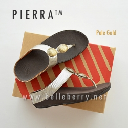 FitFlop Pierra : Pale Gold : Size US 6 / EU 37