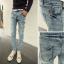 กางเกงผู้ชาย   กางเกงยีนส์ชาย กางเกงยีนส์ขายาว แฟชั่นเกาหลี thumbnail 1