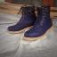 รองเท้าผู้ชาย | รองเท้าแฟชั่นชาย Blue Boots หนังนูบัคแท้ กันน้ำ thumbnail 1
