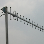 เสาอากาศ GSM/CDMA/3G YAGI 14E ย่านความถี่ 800/900 Mhz. หัวต่อ N