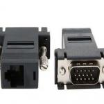 อแดปเตอร์แปลง VGA ( ผู้ ) เป็น RJ45
