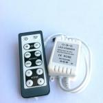 LED ดิมเมอร์(กล่องหรี่ไฟ LED) +รีโมท