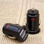 ที่ชาร์จในรถยนต์ USB 2 ช่อง2.1A ( GRIFFIN IPHONE IPAD USB CHARGER ADAPTER )