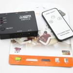 สวิทช์เลือกสัญญาณ HDMI 3 ช่อง มีรีโมต ( HDMI Switcher 3 to1 with remote )