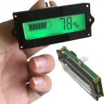 วัดไฟแบต DC 12V 24V 36V 48V LCD battery monitor แบตตะกั่วกรด