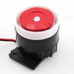 ไซเรน กันขโมย ไร้สาย/มีสาย 120db 12V ( wired home alarm siren )
