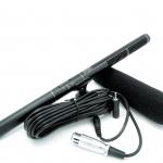 ไมโครโฟน ไมค์คอนเดนเซอร์ ไมค์บูม ติดกล้อง DSLR ( High Quality sensitivity Professional condenser microphone for Conference Interview SLR )