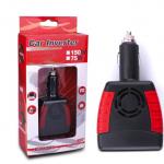 อินเวอร์เตอร์เสียบที่จุดบุหรี่ในรถ แปลงไฟจาก 12v. เป็น 220v 150W + USB ( car inverter )