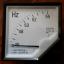 มิเตอร์วัดความถี่ ( frequency cycle HZ Panel Meter ) 45 - 55 Hz 220-380VAC thumbnail 3