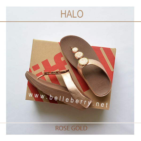 bcbe8fb7f9d FitFlop   HALO   Rose Gold   Size US 9   EU 41 - รองเท้า fitflop ของ ...