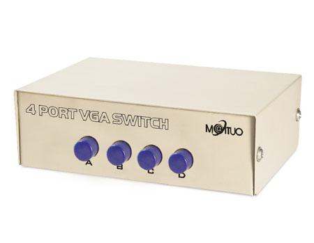 กล่องเลือกสัญญาณ VGA เข้า 1 ออก 4 ( 4 Ports VGA SWITCHER )