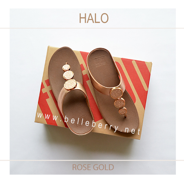 ce9f77c8c0c FitFlop   HALO   Rose Gold   Size US 8   EU 39 - รองเท้า fitflop ของ ...