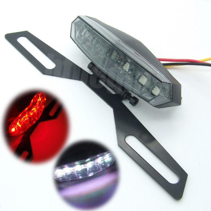 ไฟเลี้ยวท้ายแต่ง ไฟท้าย LED ไฟท้ายสั้น ไฟท้ายติดป้ายทะเบียนพับได้