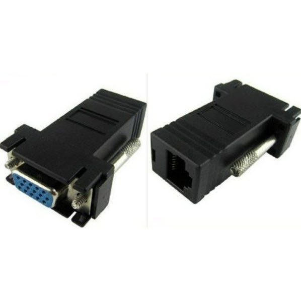 อแดปเตอร์แปลง VGA ( เมีย ) เป็น RJ45